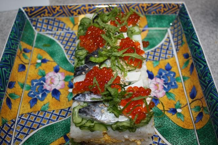 home made sushi 001
