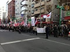2月9日 新大久保デモ2